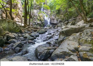 Erikli Cifte Waterfall, Yalova