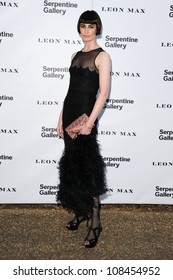Erin O'Connor arriving for the Serpentine Gallery Summer Party 2012, Hyde Park, London. 26/06/2012 Picture by: Steve Vas / Featureflash