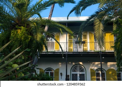 The Ernest Hemingway House was the residence of author Ernest Hemingway in Key West, Florida, United States.