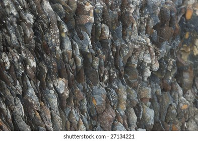 Eroded rocks in the cost of Northern Norway