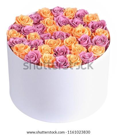 Erotic Pink Yellow Flowers Arrangement Elegant Stock Photo Edit Now