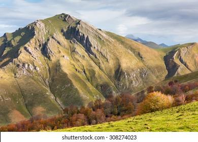 Errozate mountain in western Pyrenees