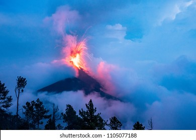 Erupting Volcano Fuego Tragedy in Guatemala