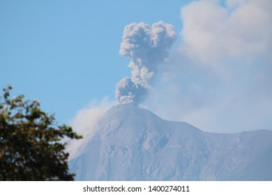 Erupting volcano in Guatemala. My first time.