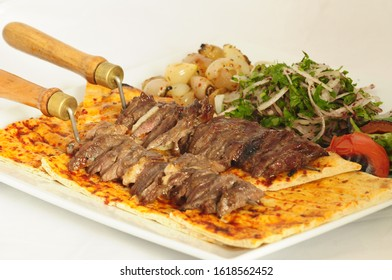 https www shutterstock com image photo erzurum cag kebab cooked on fire 1618562452