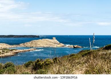 Es Colomar,Minorca Island,along the Cami de Cavalls coastal walk.