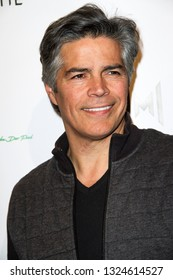 Esai Morales arrives at The Rafi 2019 Pre-Oscars Gifting Lounge at the Waldorf Astoria Hotel, Beverly Hills, CA on Feb. 22, 2019.