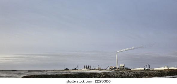 Esbjerg harbor Denmark, Metropol of energy
