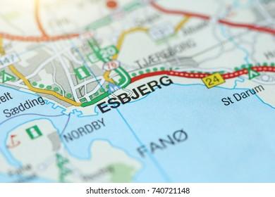 Esbjerg. Kongeriget Danmark.