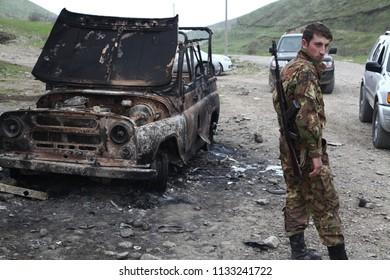 The escalation between the Nagorno-Karabakh Republic and Azerbaijan in April 2016.