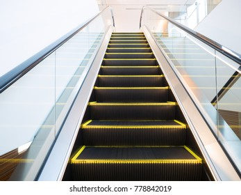 Escalator of commercial building