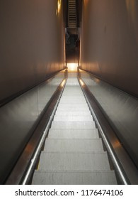 Escalator Going Down
