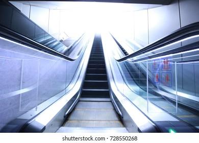 escalator light design background use