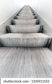 Escalator in Mall