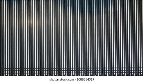 escalator textures ,modern background top view.