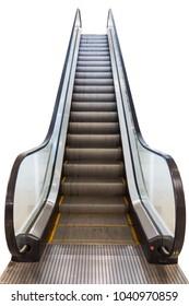 escalators in public building.