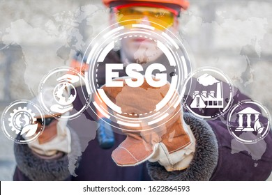 ESG concept. Criteria environmental social and corporate governance in sustainable ethical business and industry.