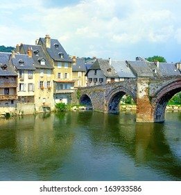 Espalion, Midi-Pyrenees, France, UNESCO - the Pilgrim's Road to Santiago de Compostela