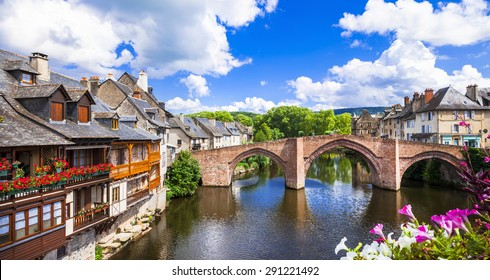 Espalion -one of the most beautiful villages of France
