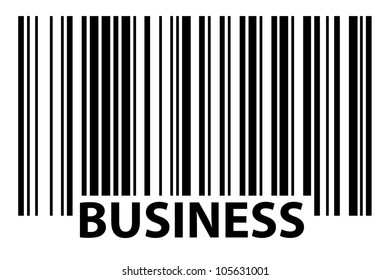 especially generated  barcode - business