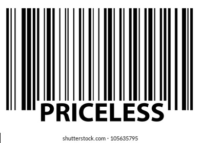 especially generated barcode - priceless
