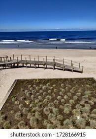 Esposende beach in the morning.