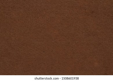 Espresso brown textured felt fabric material for a background or texture for your images or text