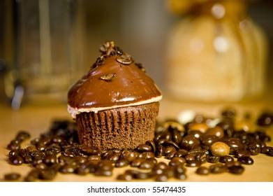 Espresso Chip Cupcake