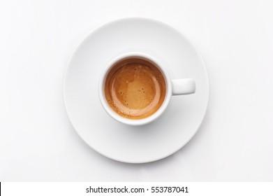 espresso coffee - Shutterstock ID 553787041