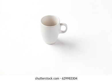 Espresso cup isolated on a white background
