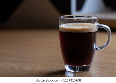 Espresso cup ready to drink - Shutterstock ID 1157315908