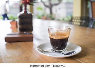 Espresso double shot.