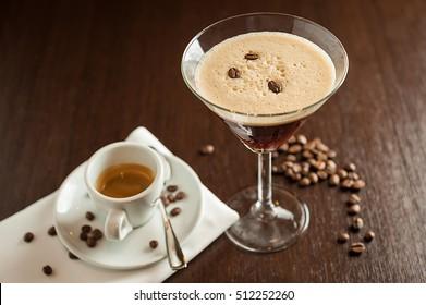 Espresso Martini cocktail