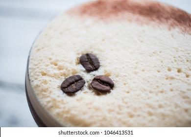 Espresso martini cocktail drink high end bar trendy coffee
