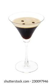 Espresso martini isolated