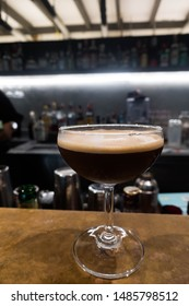 """""""Espresso Martini"""" new menu by using double shot of espresso with syrup and shake"""