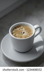 Espresso on table
