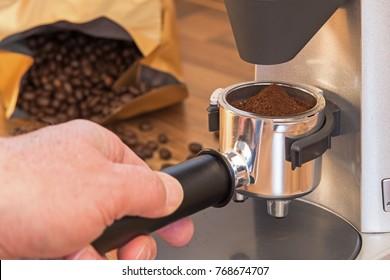 Espresso preparation at home