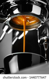 Espresso shot from espresso machine