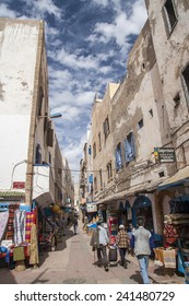 ESSAOUIRA, MOROCCO - CIRCA SEPTEMBER 2014: town of Essaouira circa September 2014 in Essaouira.