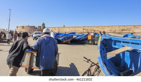 ESSAOUIRA/MOROCCO - DECEMBER 1 2011: Essaouira town. Morocco. Northern Africa