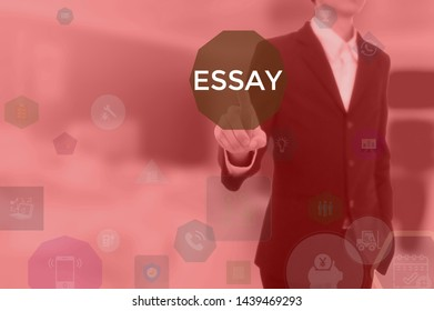 Sample Biography Essay  Healthy Food Essay also Exemplification Essay Thesis Business Essay Images Stock Photos  Vectors  Shutterstock Compare And Contrast Essay Topics For High School