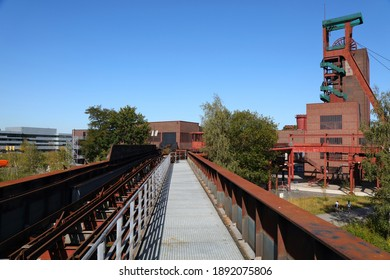 Essen, Germany. Industrial heritage of Ruhr region. Zollverein, a UNESCO World Heritage Site.