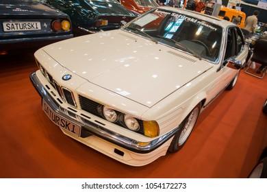 Essen, Germany, March 23, 2018; Essen Techno Classica 2018. BMW 6 series