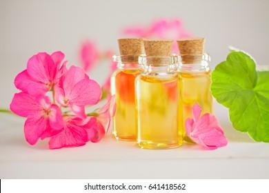 Essential oil of geranium