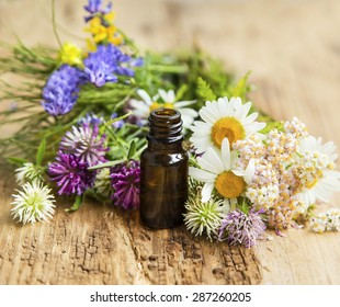 Essential Oil with Natural Herbs , Alternative Medicine
