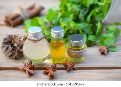 Essential Oils with Peppermint for Health and Spa