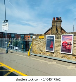 Essex, UK - 22 05 2019: London Liverpool Street to Norwich Line - Chelmsford Station.