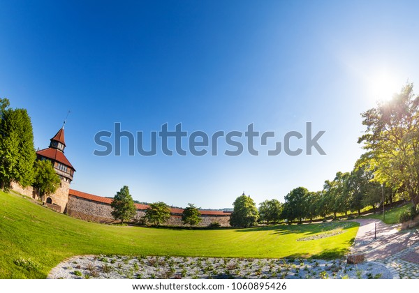 Esslingen Burg fortress with tower, Germany