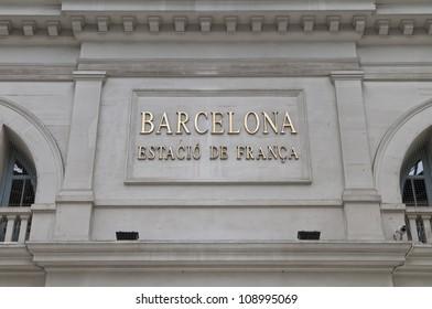 Estacio de Franca, Barcelona, Spain